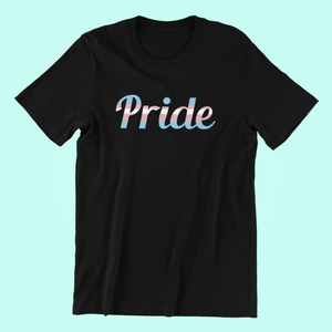 Pride in Trans Flag Colors Shirt
