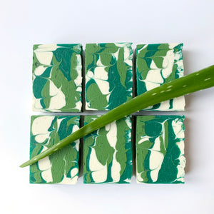 Aloe, there! Soap