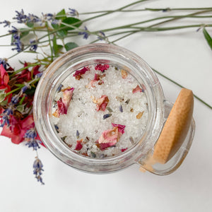 Calm Bath Tea Salt Soak