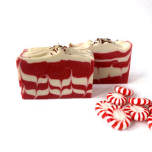 Load image into Gallery viewer, Candy Cane Soap