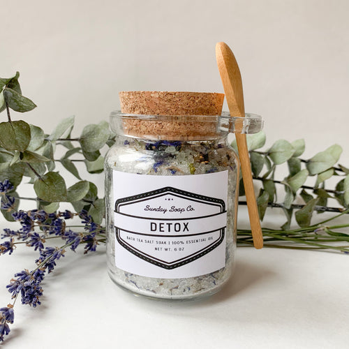 Detox Bath Tea Salt Soak