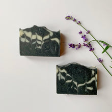 Load image into Gallery viewer, Charcoal Lavender Soap