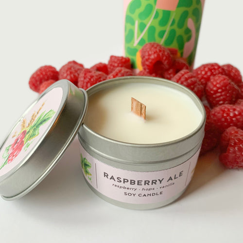 Raspberry Ale Candle