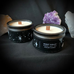 Night Violet Candle