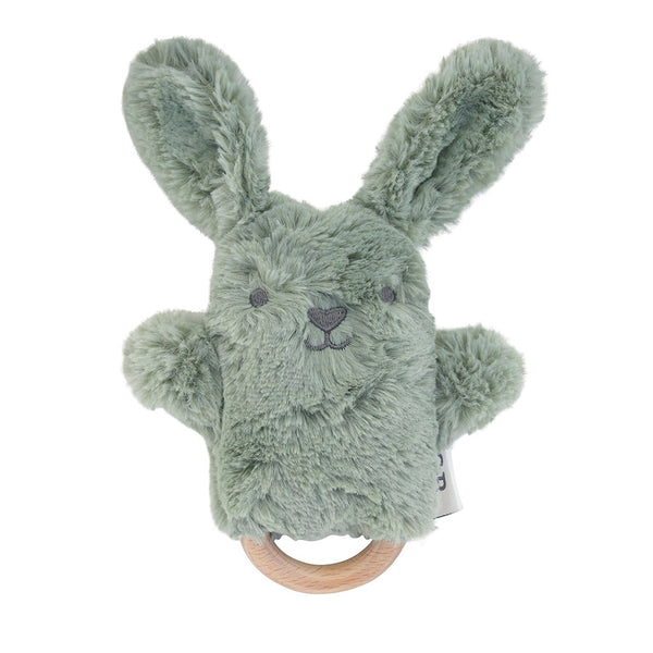 OB Designs Beau Bunny Baby Rattle