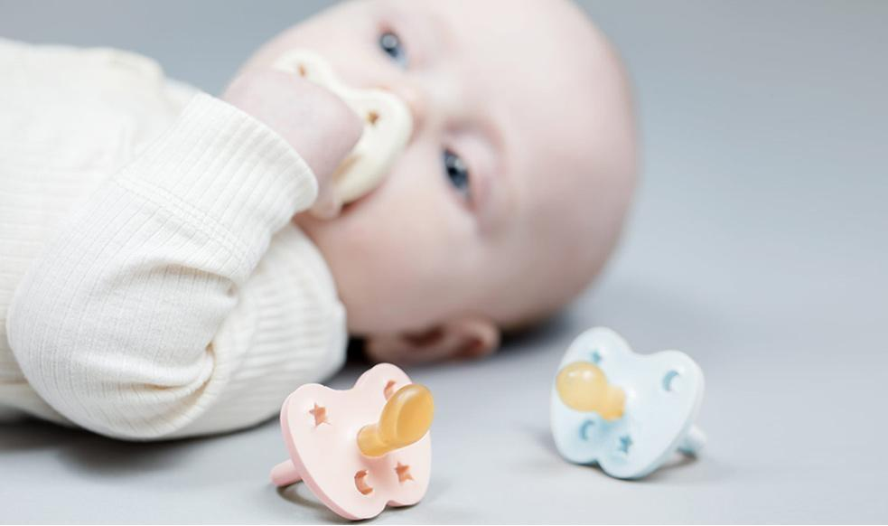 Hevea Natural Rubber Pacifiers