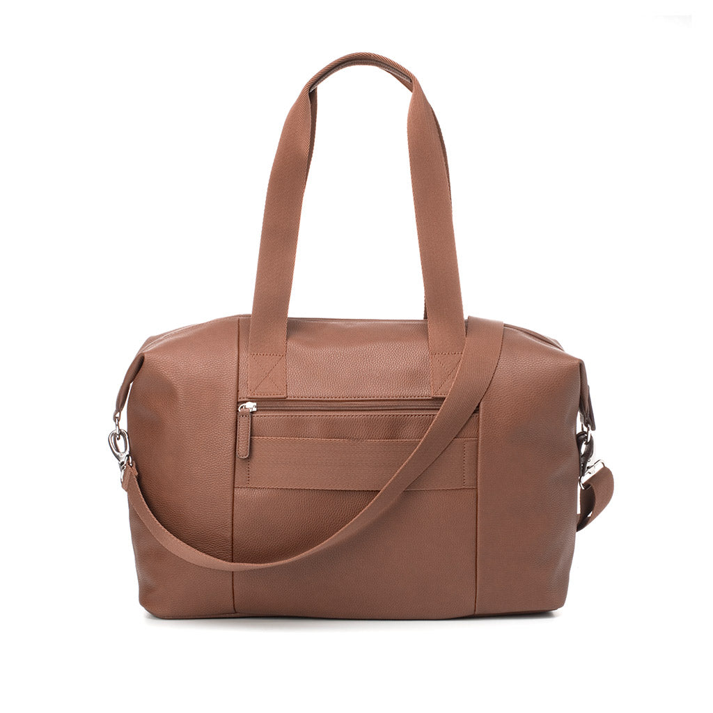 Babymel Tan Nappy Bag Vegan Leather