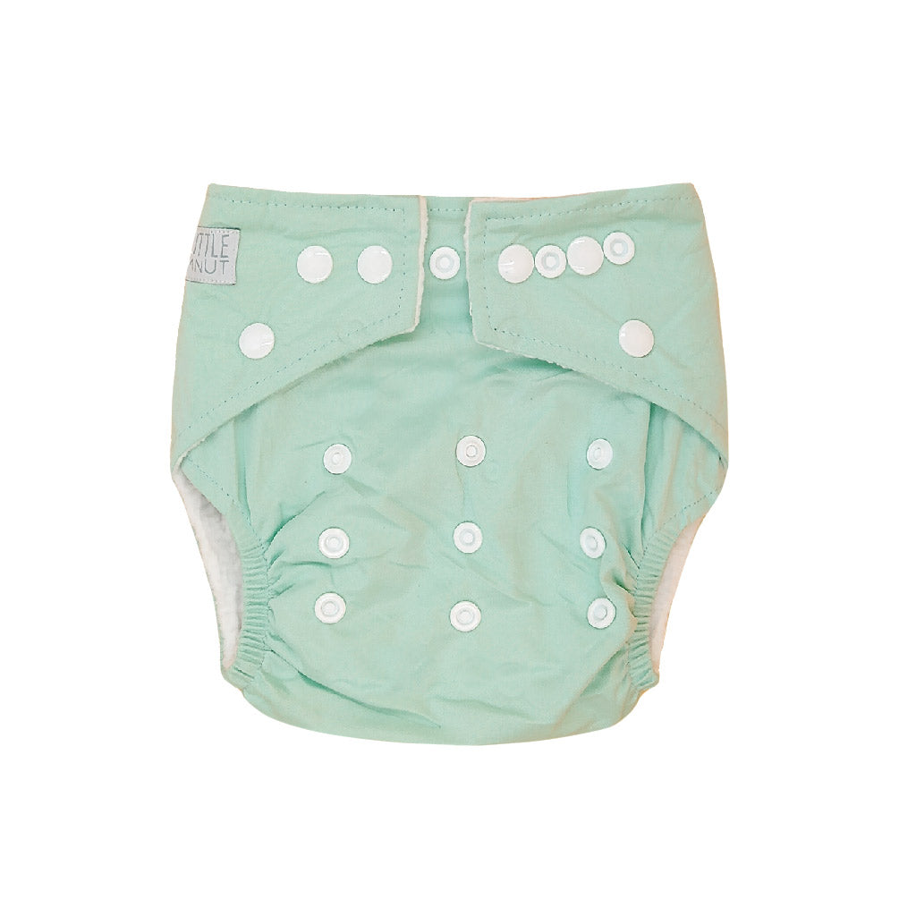 My Little Gumnut Reusable Cloth Nappy Mint