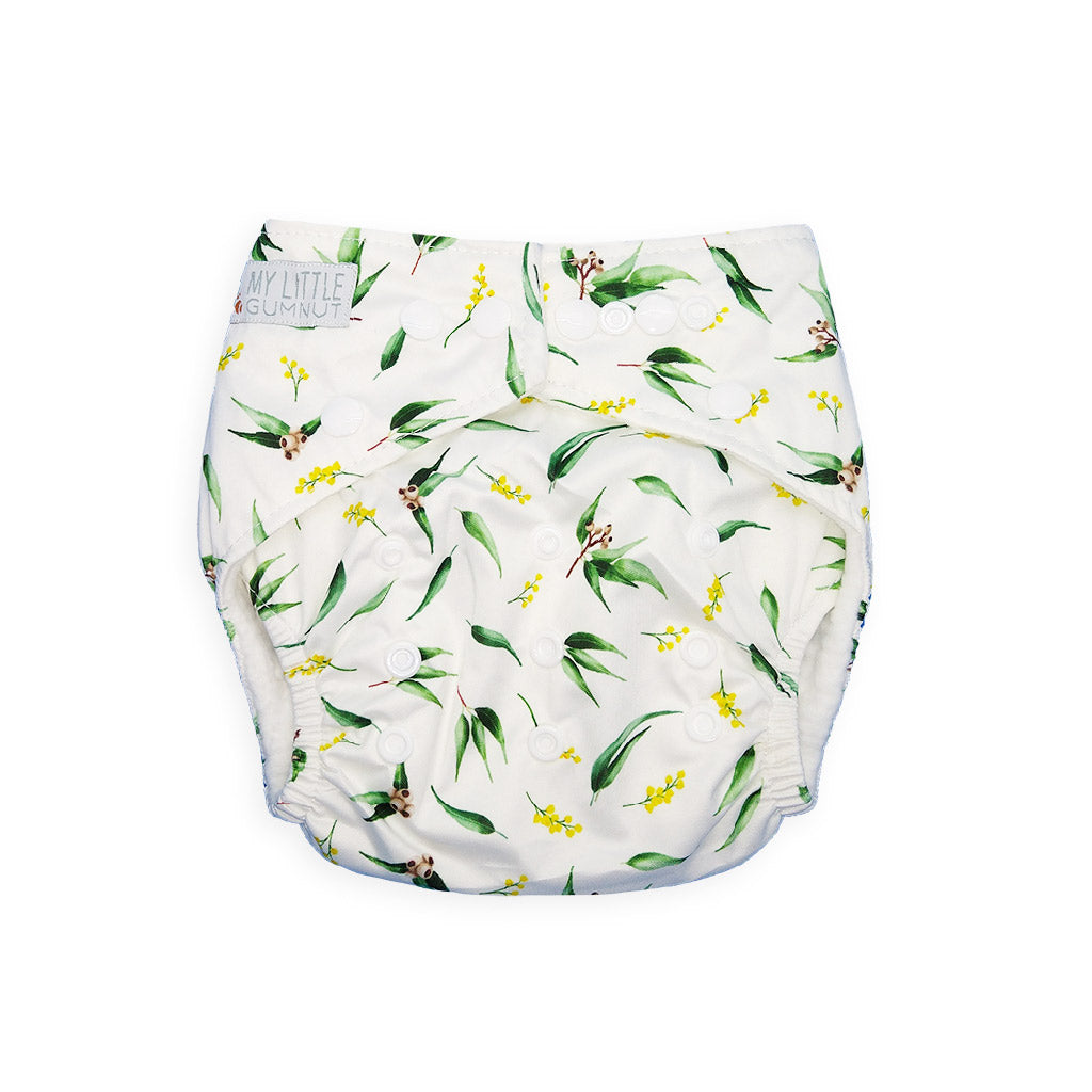 My Little Gumnut Reusable Cloth Nappy Bamboo Insert Gumnut