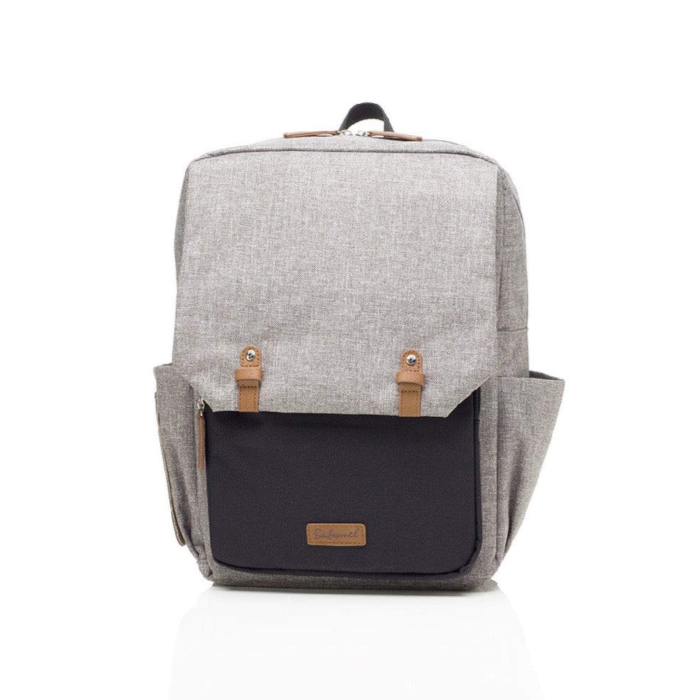 Babymel George Backpack Black/Grey