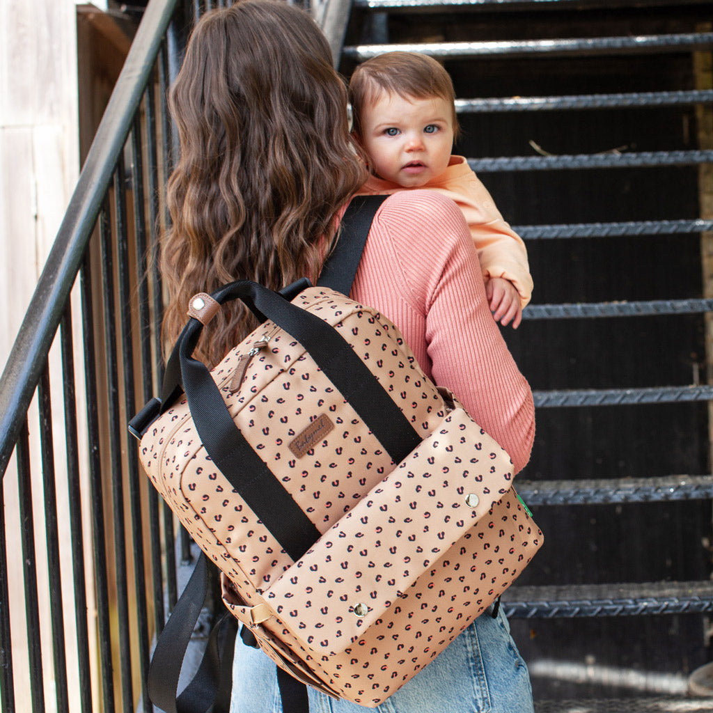 Babymel Georgi Backpack Leopard