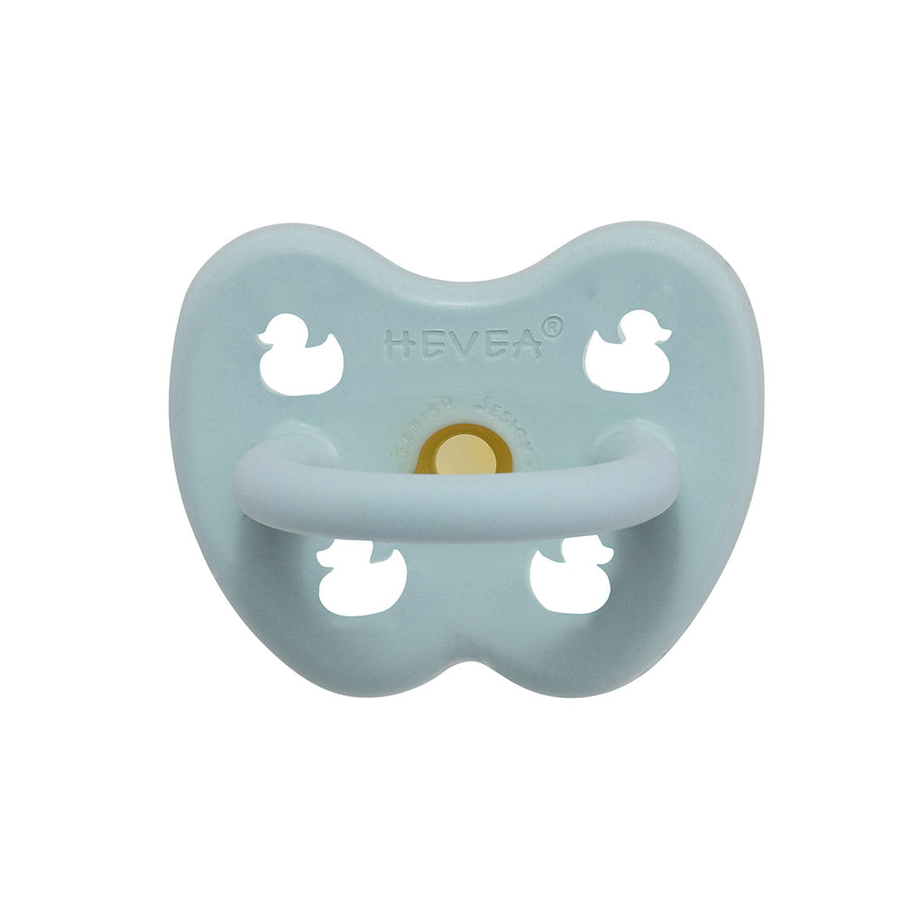 Hevea Natural Rubber Pacifier Baby Blue