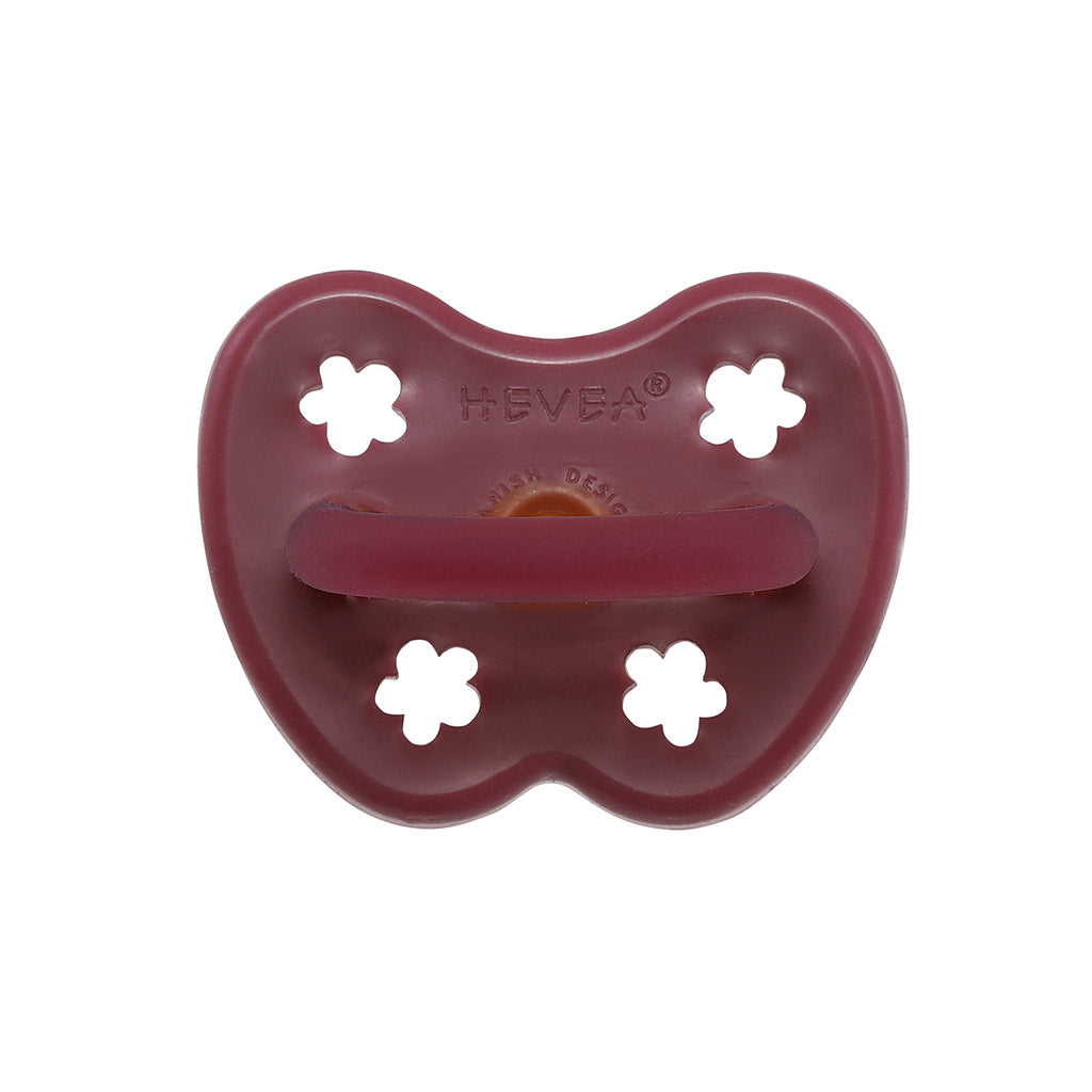 Hevea Natural Rubber Pacifier Ruby