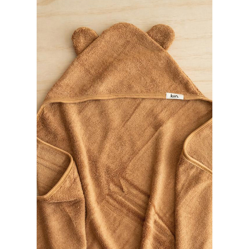 Kiin Baby Hooded Towel Caramel