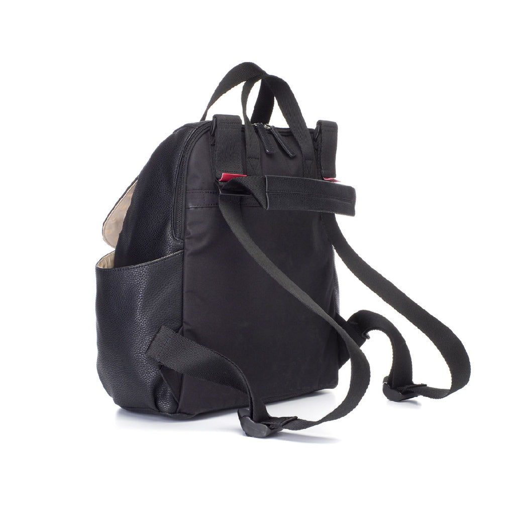 Babymel Robyn Backpack Faux Leather Black