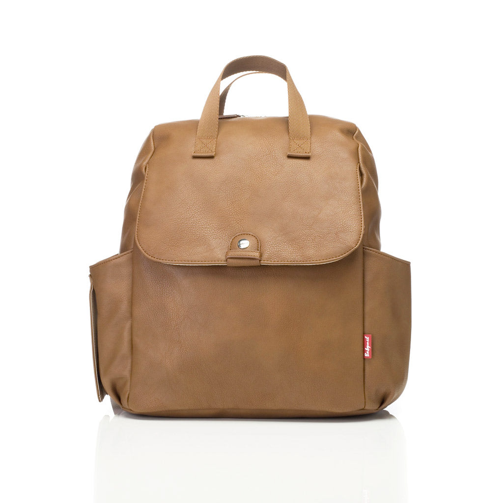 Babymel Robyn Backpack Vegan Leather Tan