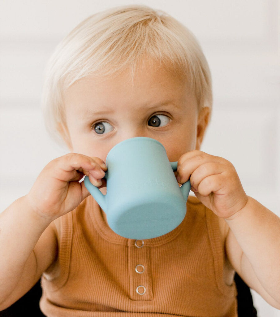 Wean Meister Baby Cup Blue