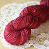Black Cherry / Hand Dyed Yarn