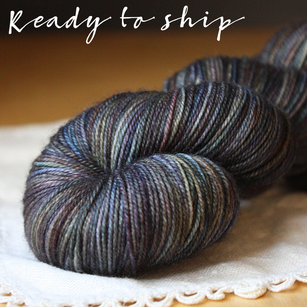 Alluree / Fingering Weight / Alchemy Superwash Merino Cashmere Nylon Hand Dyed Yarn / Ready to Ship