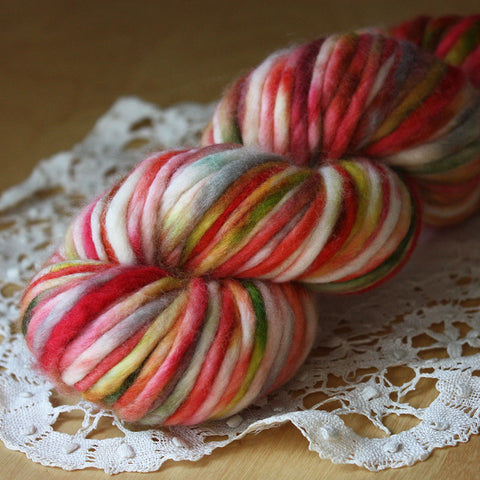 Coussin / Super Bulky Weight / Amelie Merino Wool Hand Dyed Yarn