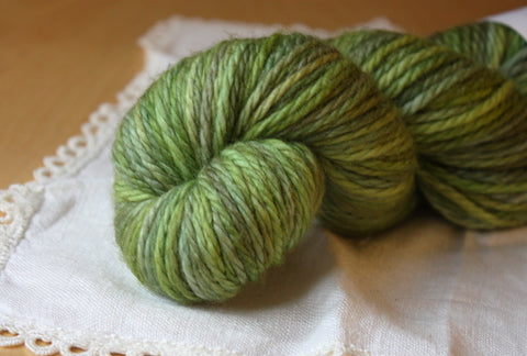 Beurre / Bulky Weight / Artichaut Superwash Merino Wool Hand Dyed Yarn / READY TO SHIP