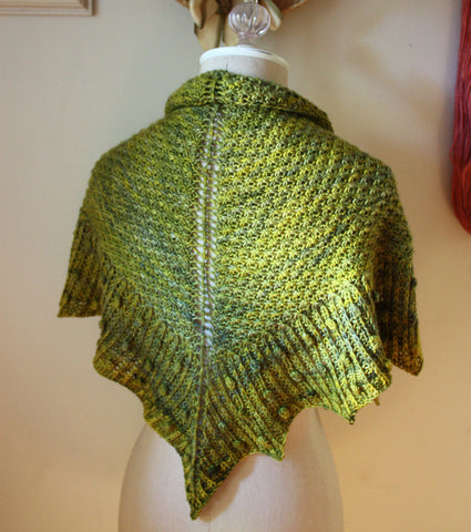 Asterisque Shawlette Knitting Pattern