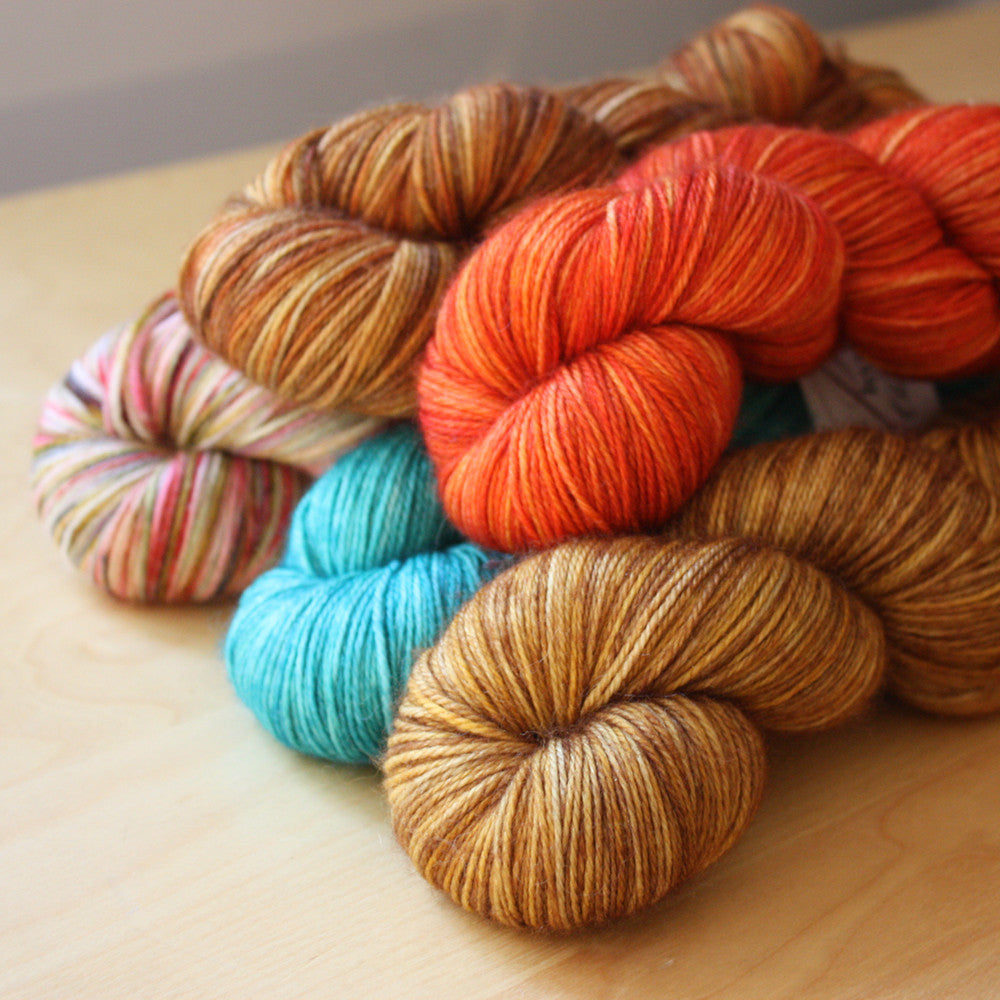 Mini Skeins / 400 Yards / Hand Dyed Merino Fingering Weight / Ready to Ship