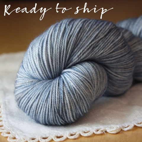Alluree / Sock Weight / Baleen Superwash Merino Cashmere Nylon Hand Dyed Yarn / Ready to Ship