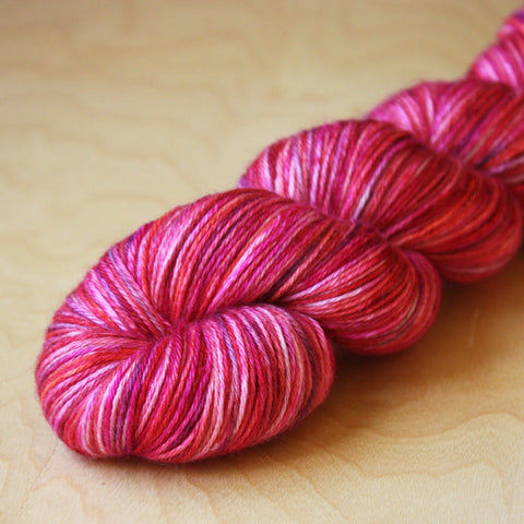 Mini Skeins / 400 Yards / Hand Dyed Be Mine Mini Skeins Alluree Fingering Weight