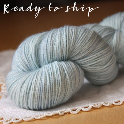 Alluree / Sock Weight / Beach Glass Superwash Merino Cashmere Nylon Hand Dyed Yarn / Ready to Ship