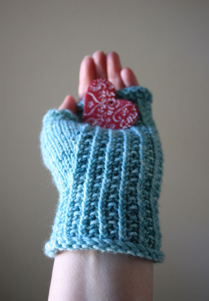 Belgique Fingerless Mittens Knitting Pattern – Phydeaux Designs & Fiber