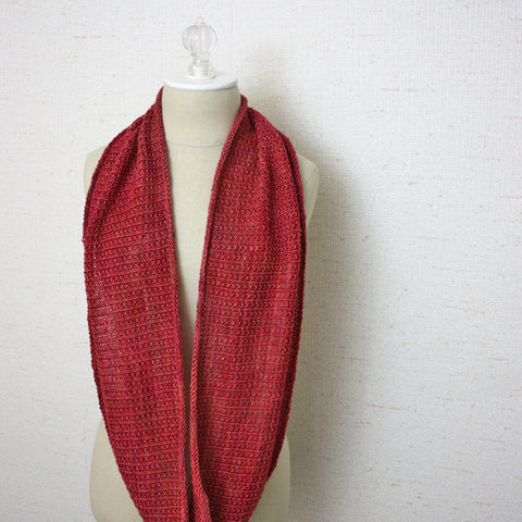 Belgique Infinity Scarf / Cowl Knitting Pattern