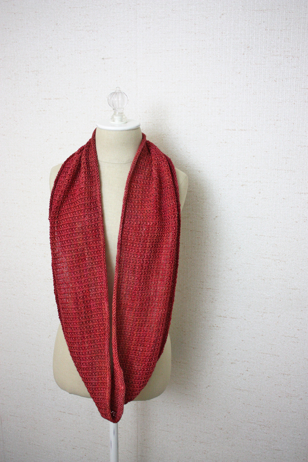 Belgique Infinity Scarf Cowl Knitting Pattern Phydeaux Designs
