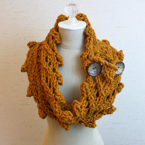 Rustico Cowl / Wrap Knitting Pattern