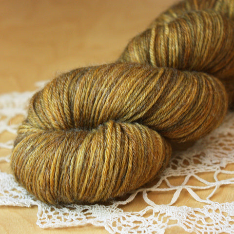 Bambou / Fingering Weight / Brasserie Superwash BFL Wool Bamboo Hand Dyed Yarn / Ready to Ship