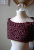 Bordeaux Cowl Neckwarmer Knitting Pattern