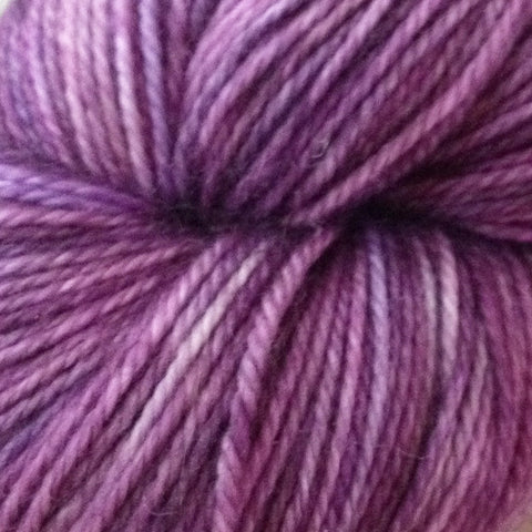 Candied Violets / Hand Dyed Yarn