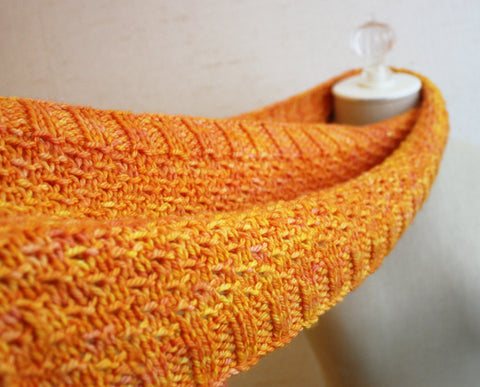 Celle Infinity Scarf / Cowl Knitting Pattern