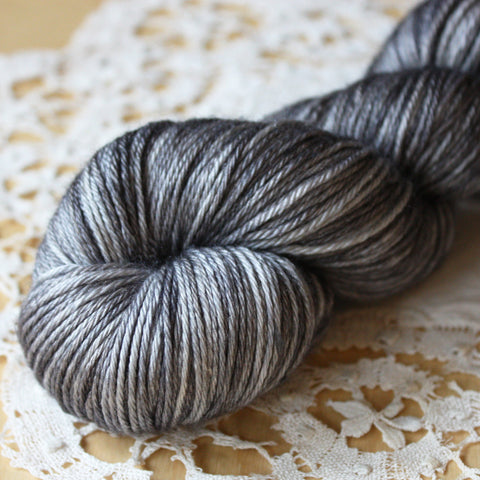 Charcoal / Hand Dyed Yarn