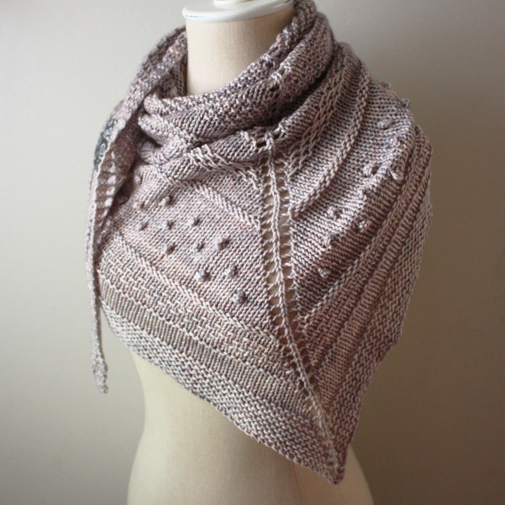 Texelle Chunky Shawl Knitting Pattern
