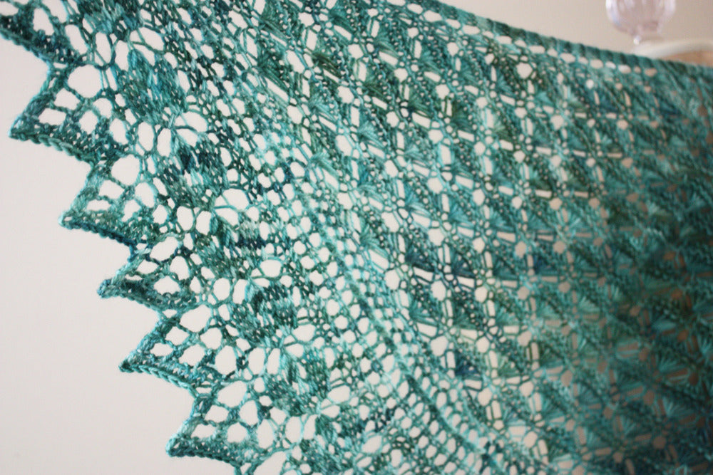 Soleil Lace Shawlette Knitting Pattern – Phydeaux Designs & Fiber