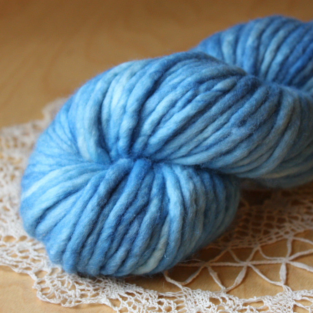 Coussin / Super Bulky Weight / Didymus Merino Wool Hand Dyed Yarn
