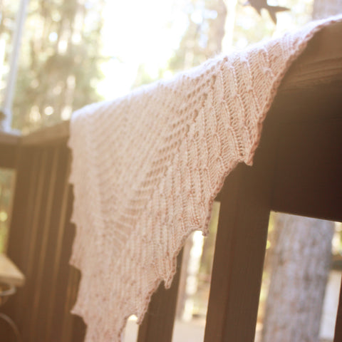 Suisse Shawl Knitting Pattern
