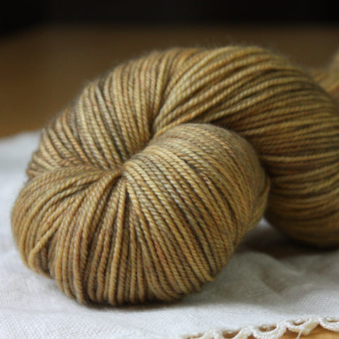 Alluree / Fingering Weight / Doubloon Superwash Merino Cashmere Nylon Hand Dyed Yarn / Ready to Ship