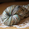 Caresse / Fingering Weight / Glacier Merino Wool Cashmere Nylon Hand Dyed Yarn / READY TO SHIP