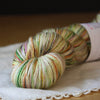 Soie / Fingering Weight / Glamping Merino Wool Silk Hand Dyed Yarn / READY TO SHIP