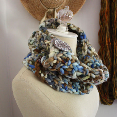 Granite Cowl / Neckwarmer Knitting Pattern