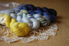 Mini Skeins / O Holy Night / Alluree Luxury Hand Dyed MCN Yarn