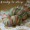 Alluree / Fingering Weight / Joyful Superwash Merino Cashmere Nylon Hand Dyed Yarn / Ready to Ship