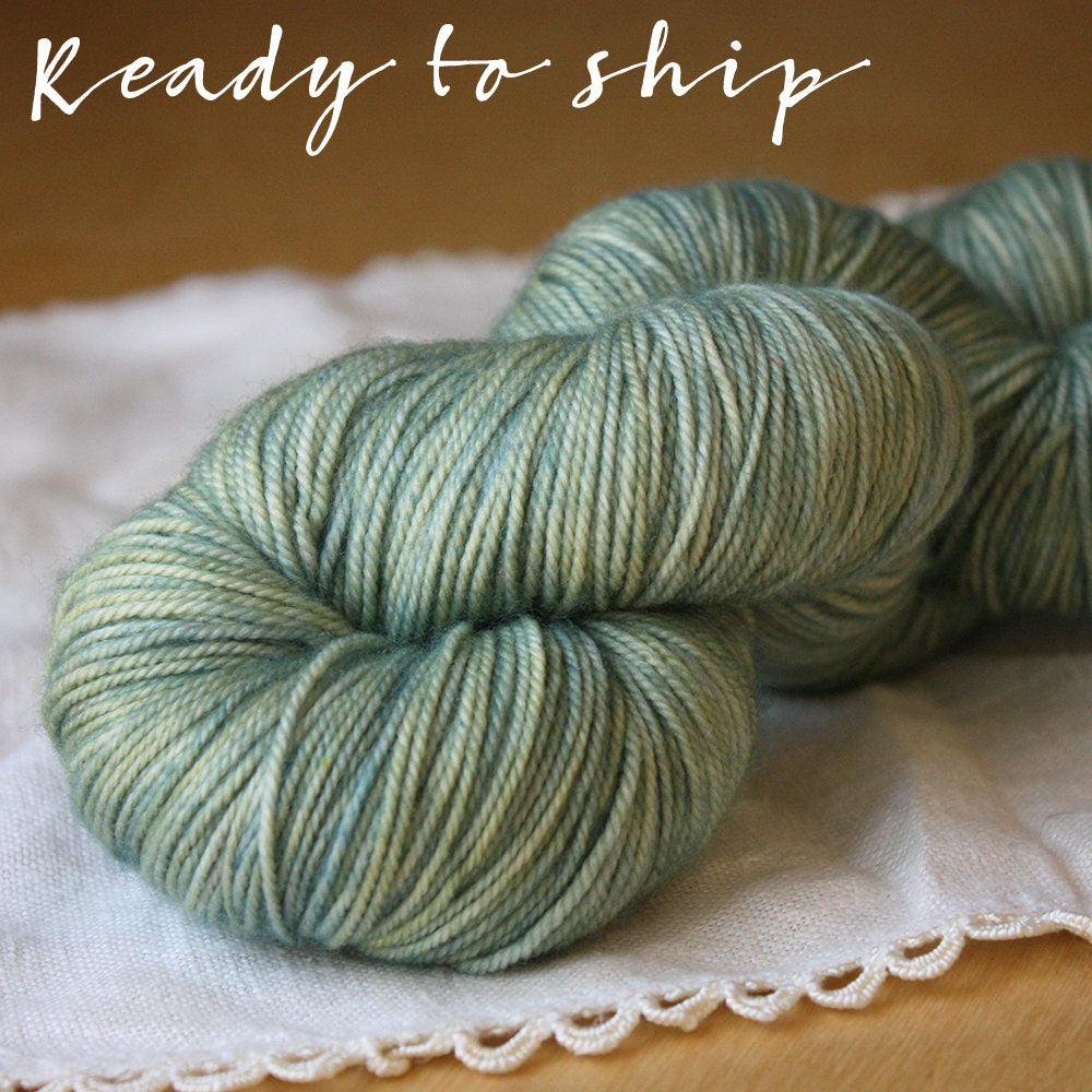 Alluree / Fingering Weight / Kaelpie Superwash Merino Cashmere Nylon Hand Dyed Yarn / Ready to Ship